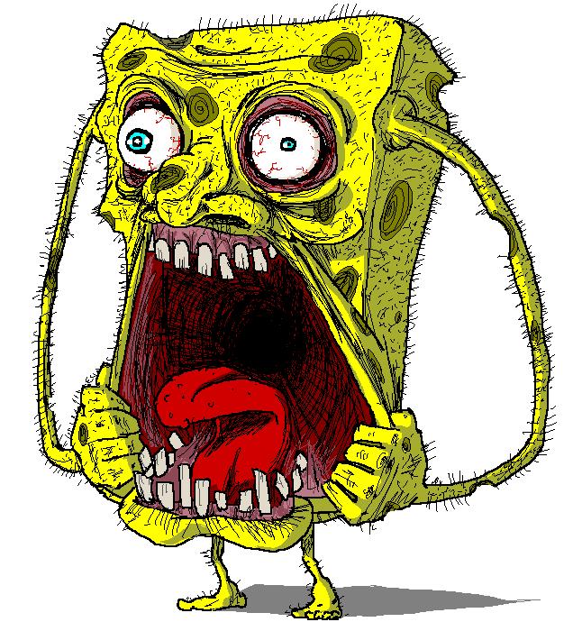 Spengbab Bob Sponja Bob Esponja Dibujos De Terror