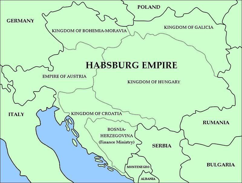 Habsburg Empire German History Poland Germany Kingdom Of Bohemia