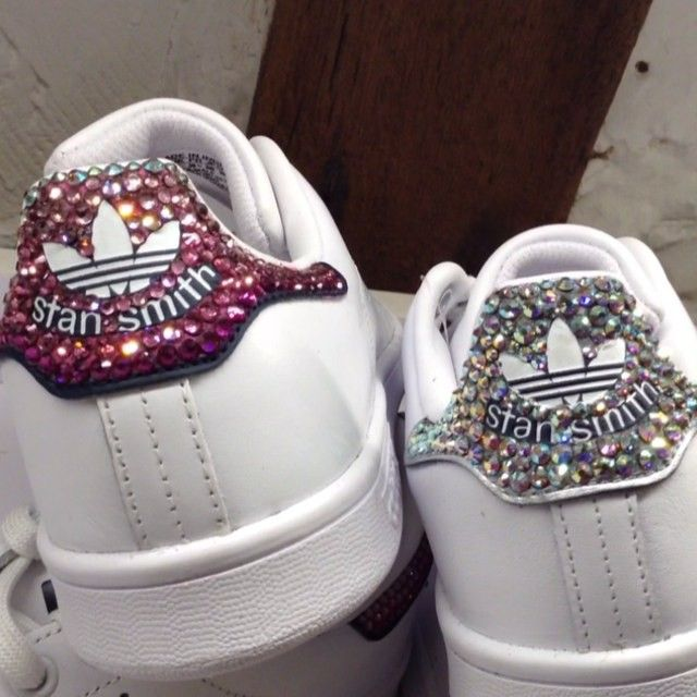 12 idées pour customiser vos Stan Smith | Chaussures kawaii ...