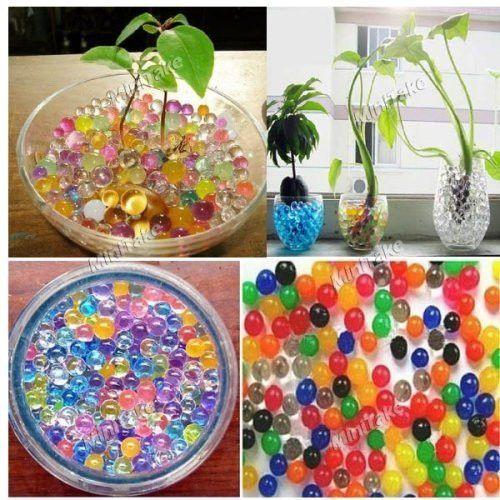 9-Bag Plant Grown Nutrient & Moisturizing Crystal Balls - BRAND NEW - 1 penny starting bid