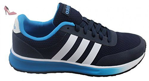 adidas Neo V RACER TM II Chaussures Sneakers Mode Homme Bleu