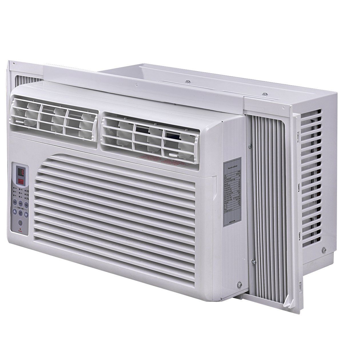 Costway Cold Air Conditioner Windowmounted Compact W Remote Control 115v White 8000 B High Efficiency Air Conditioner Portable Air Conditioner Air Conditioner