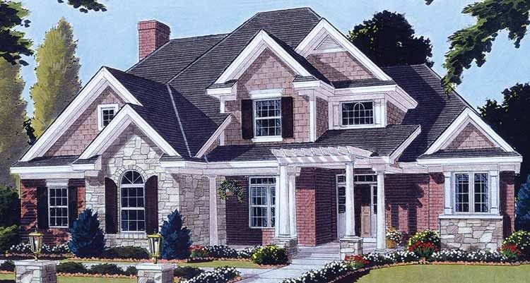 Eplans Country House Plan Four Bedroom Country 2964 Square Feet And 4 Bedrooms S From Eplans Hous Sims House Plans Country Style House Plans House Plans