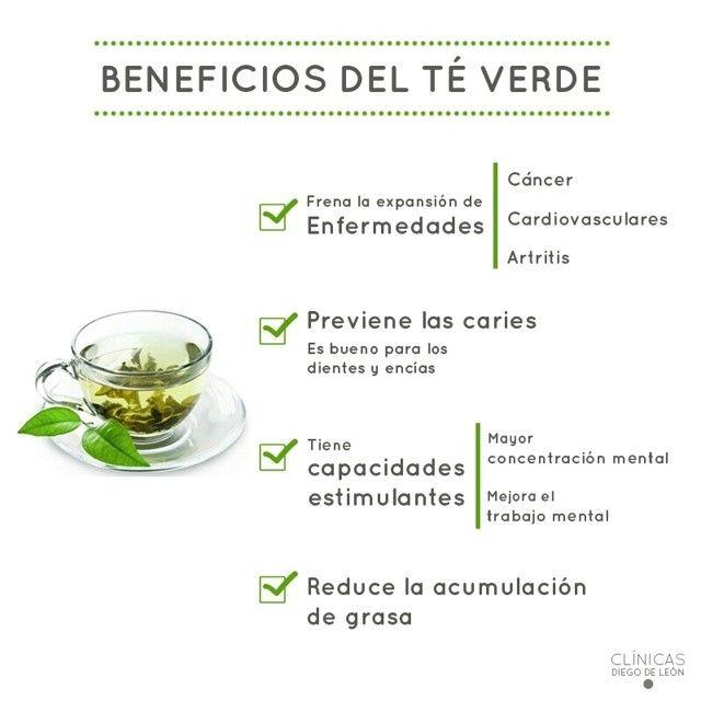 el t verde es una de las bebidas que m s beneficios