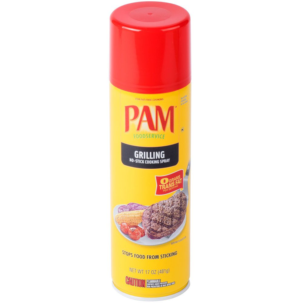 Pam 17 Oz No Soy Grilling Release Spray 6 Case Soy Free Recipes Grilling Clean Cooking