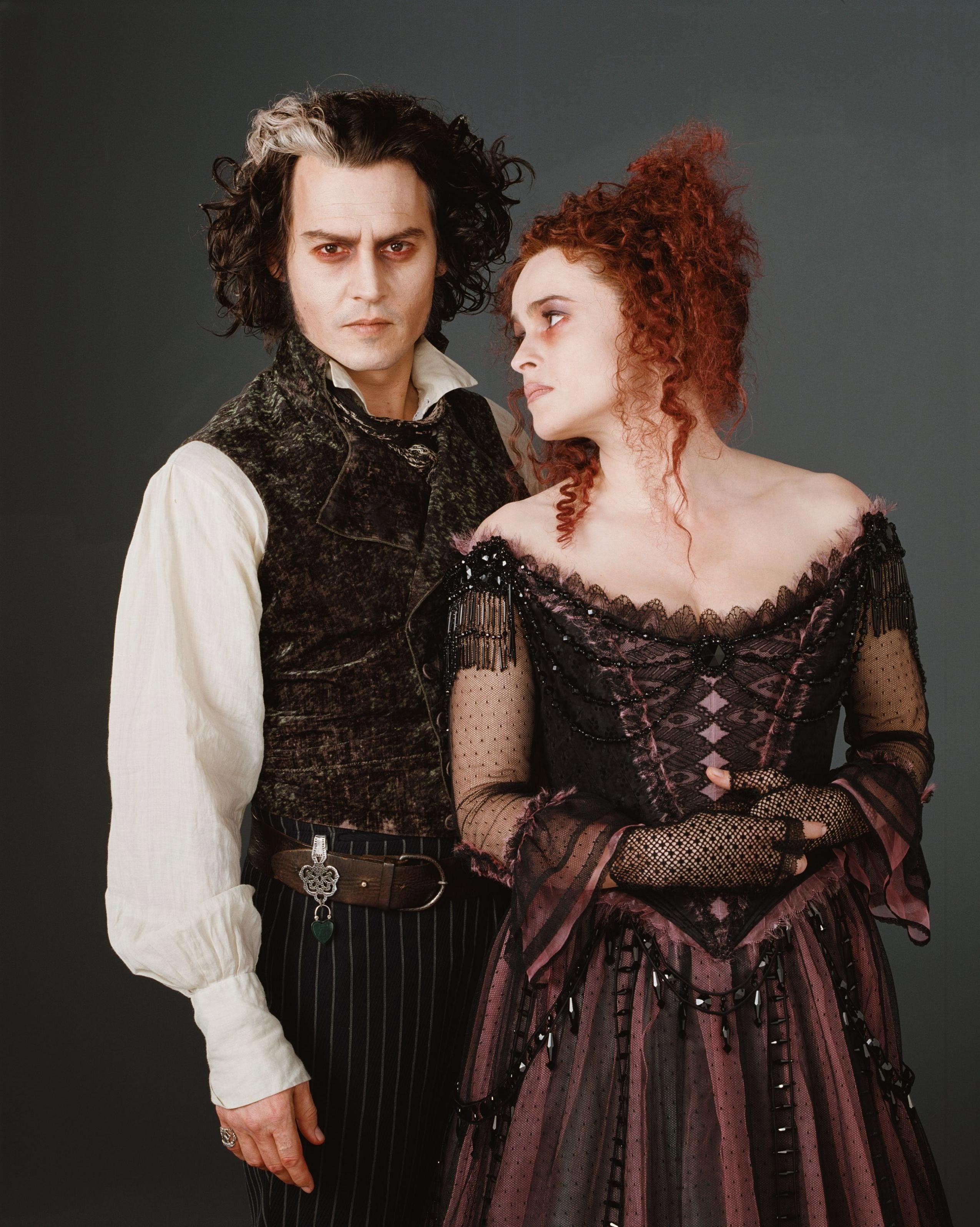 Sweeney Todd And Mrs Lovett Johnny Depp And Helena Bonham Carter Fantasie Kostuums Prachtige Jurken Jurken