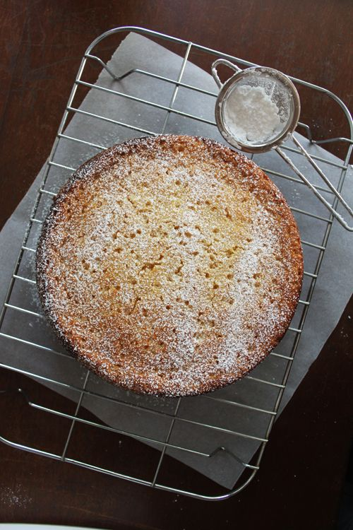 Lemon and ricotta cake