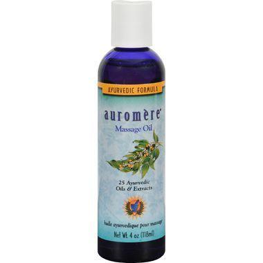 Auromere Ayurvedic Massage Oil - 4 fl oz