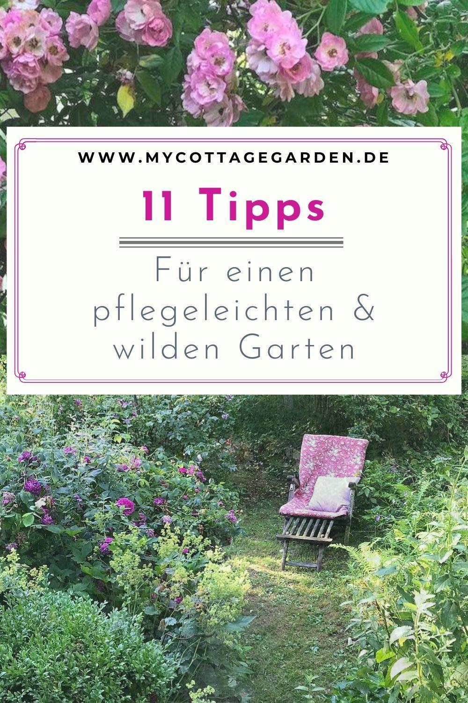 11 Tipps Fuer Einen Pflegeleichten Garten Weniger Arbeit Mehr Genuss Pflegeleichter Garten Gartendesign Ideen Romantische Garten