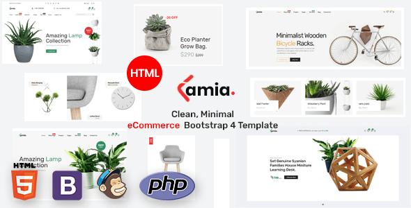 Lamia E-commerce Bootstrap 4 Template   Best Premium HTML Themes