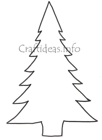 free christmas cut out patterns craftideasinfo free craft pattern large christmas tree - Cut Out Christmas Decorations