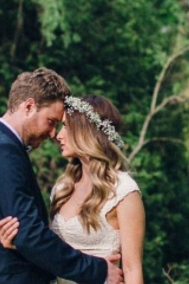 Woodland Bride hair style