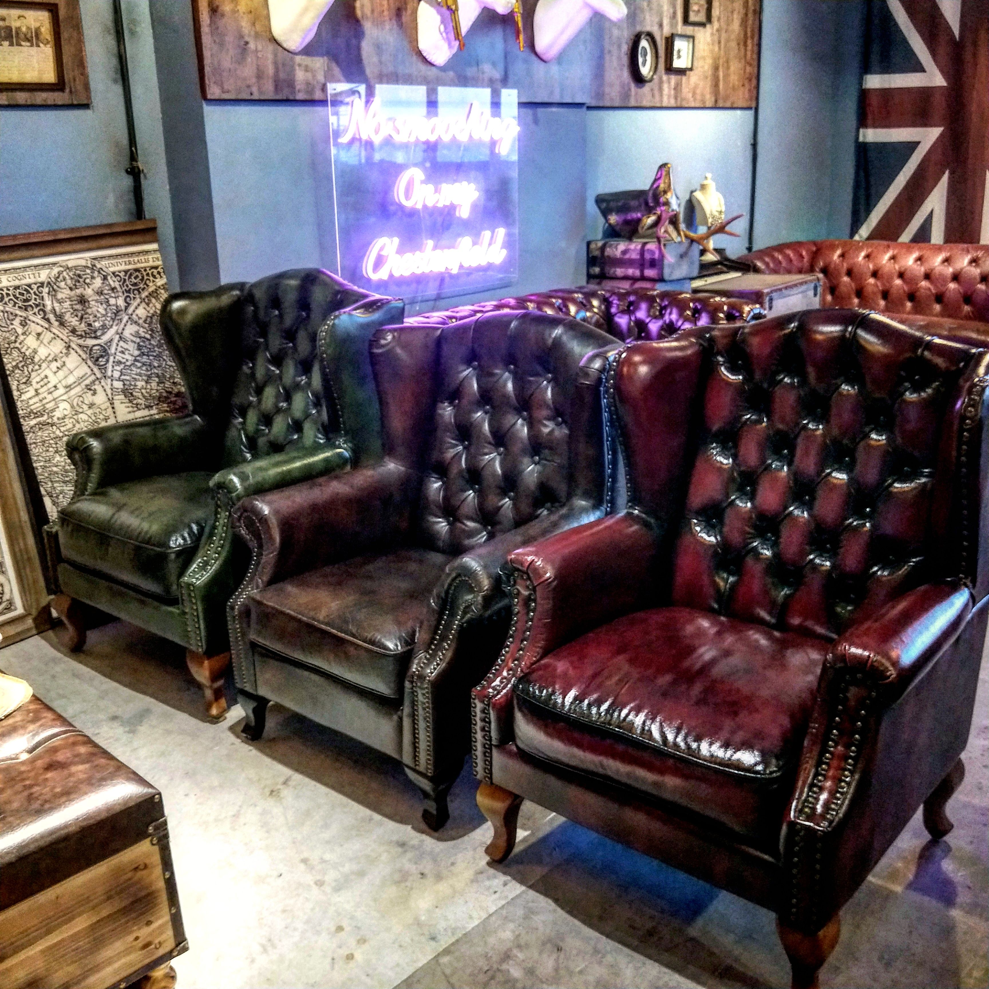 singapore cheapest leather wingchair armchair Leather