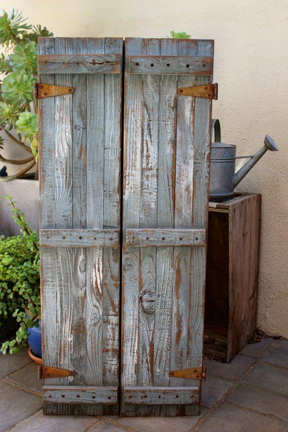 Reclaimed Wood - Jewelry Organizer - Closet Organization - Wall Unit ...