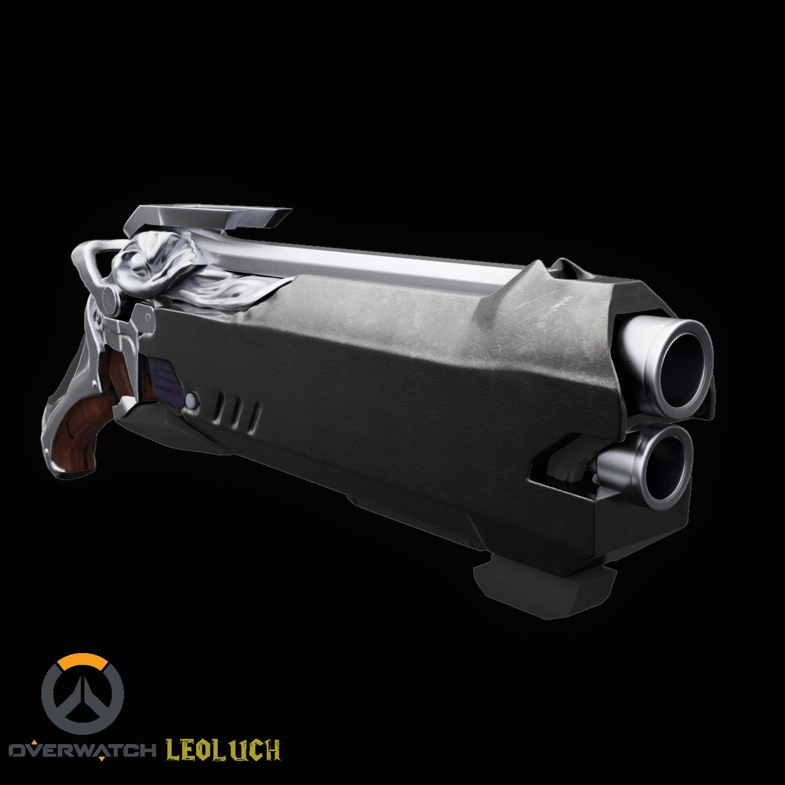 Explore Nerf Contra, Idéias Do Traje e muito mais! Reaper's Gun Overwatch  ...