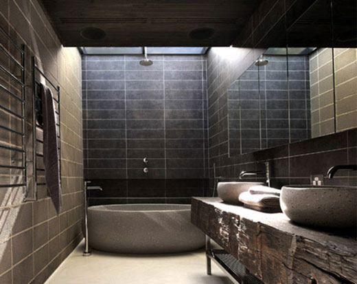 Badezimmer Holz ~ Badezimmer holz stein sincerity badezimmer holz