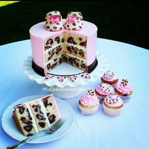 animal print cake @tiinatolonen