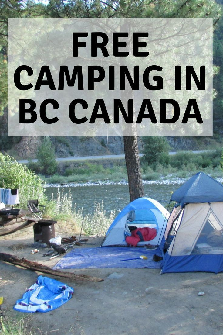 Bc Guided Hiking Trip Canadian Remote Adventure Tours: Free Camping In BC - Canada In 2020