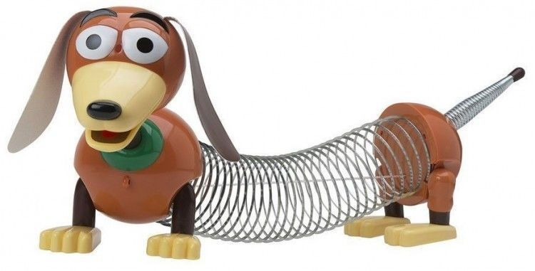 New Toy Story Slinky Dog Jr Disney Movie Character Kids Pixar Tv