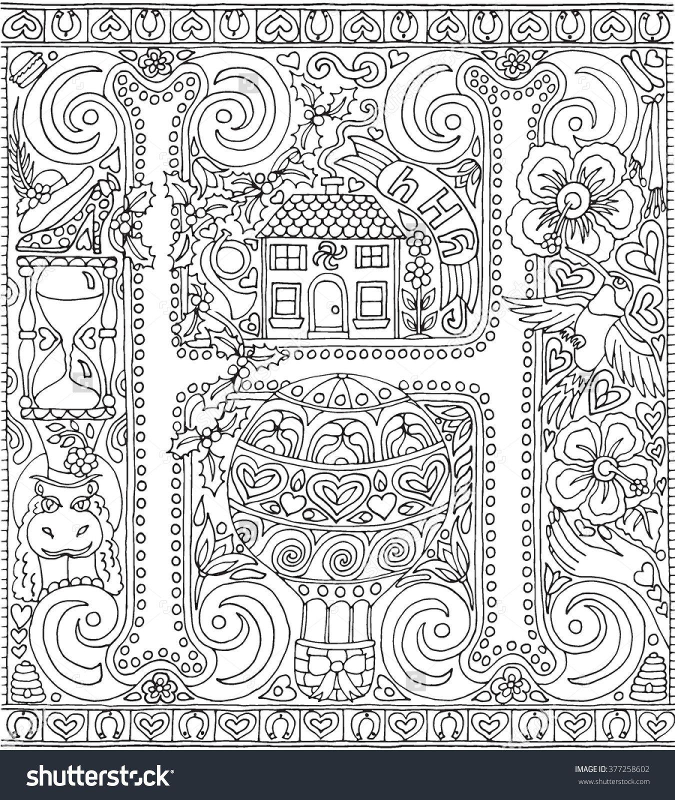Image Result For Adult Colouring Zen