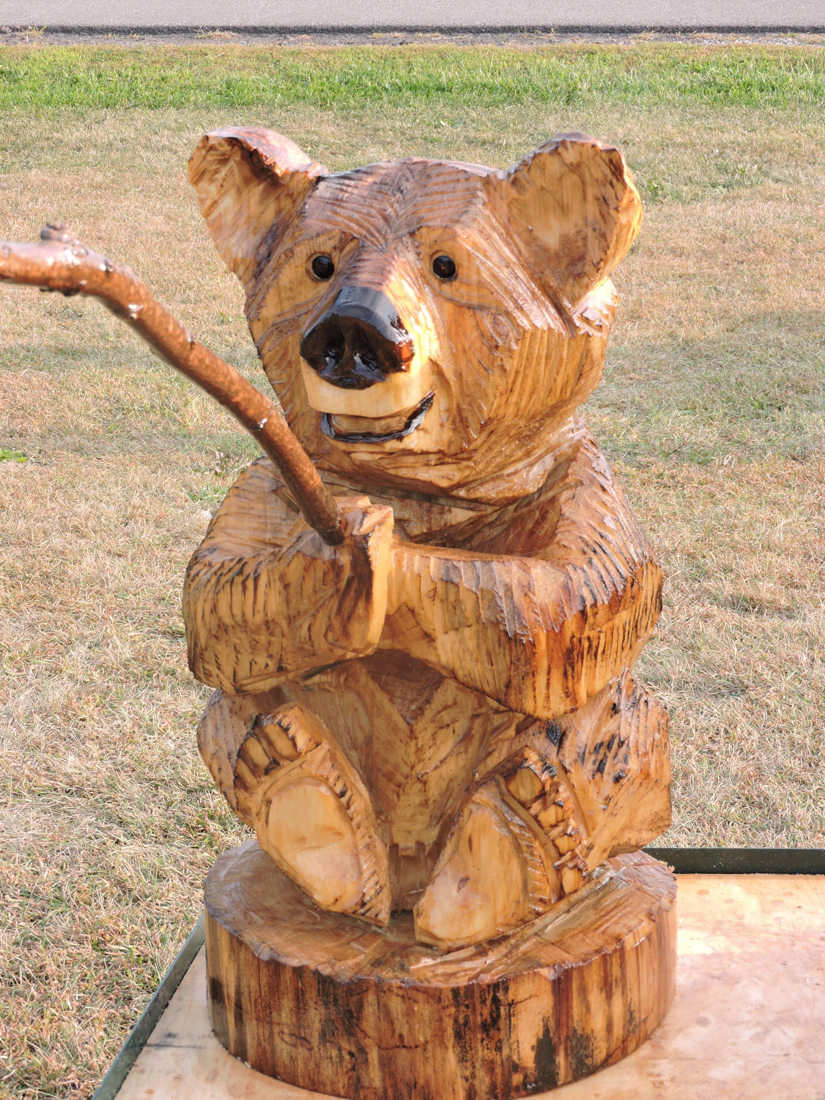 нетерпением буду фигуры медведя из дерева своими руками фото будучи маленькой, особенно