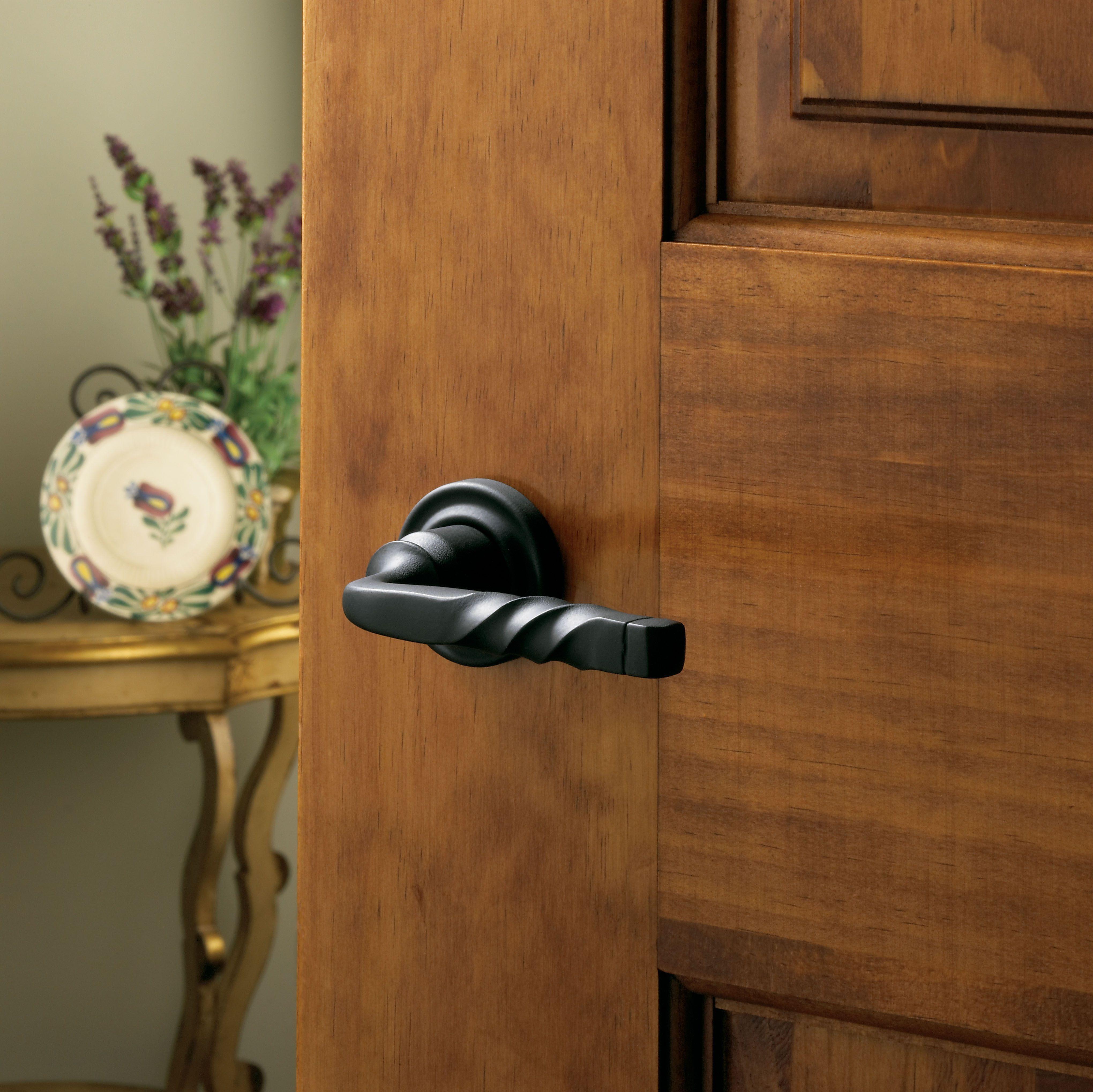 Baldwin Black Lever 5132.190 #interior # door #black# handle & Baldwin Black Lever 5132.190 #interior # door #black# handle ...