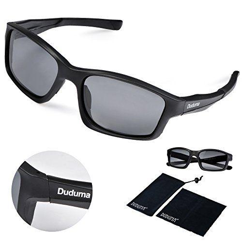 30f3e778e09 Duduma ® Uv400 Protection Polarized Rectangle Sports Sunglasses for Cycling  Running Baseball Fishing Tr603 Unbreakable Frame