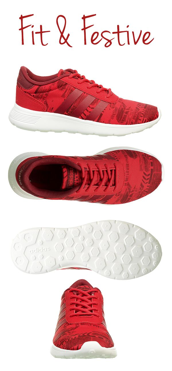7a98d2fec Feel the magic of the season in ultra lightweight adidas Lite Racer running  shoes. They make a great gift for the fitness fanatic on your list or snag  a ...