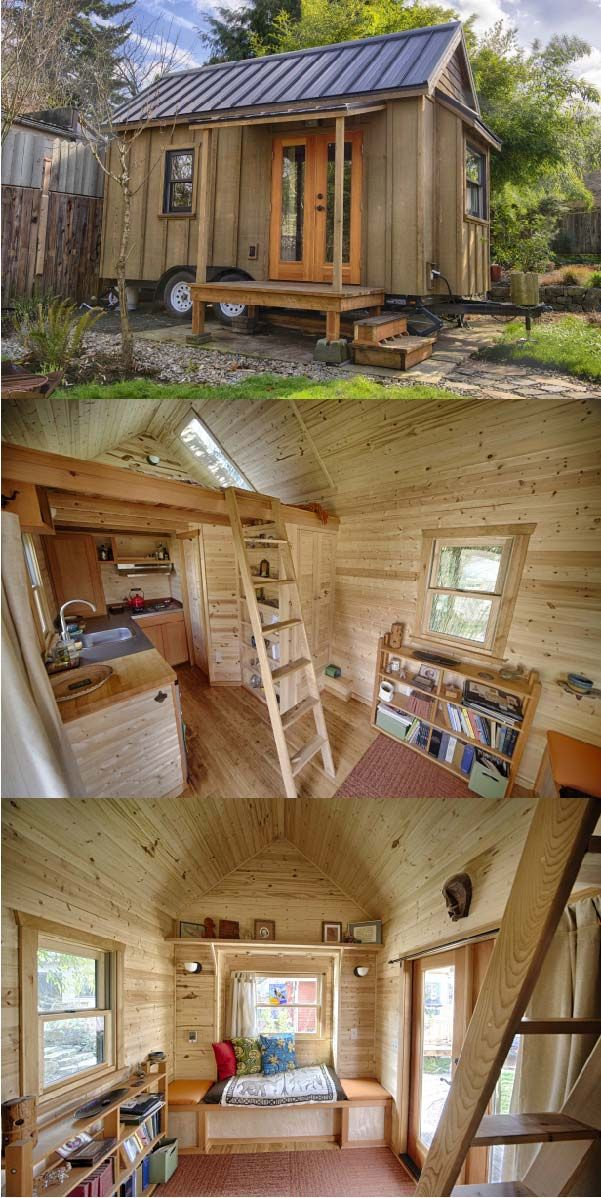 The Sweet Pea Tiny House Plans