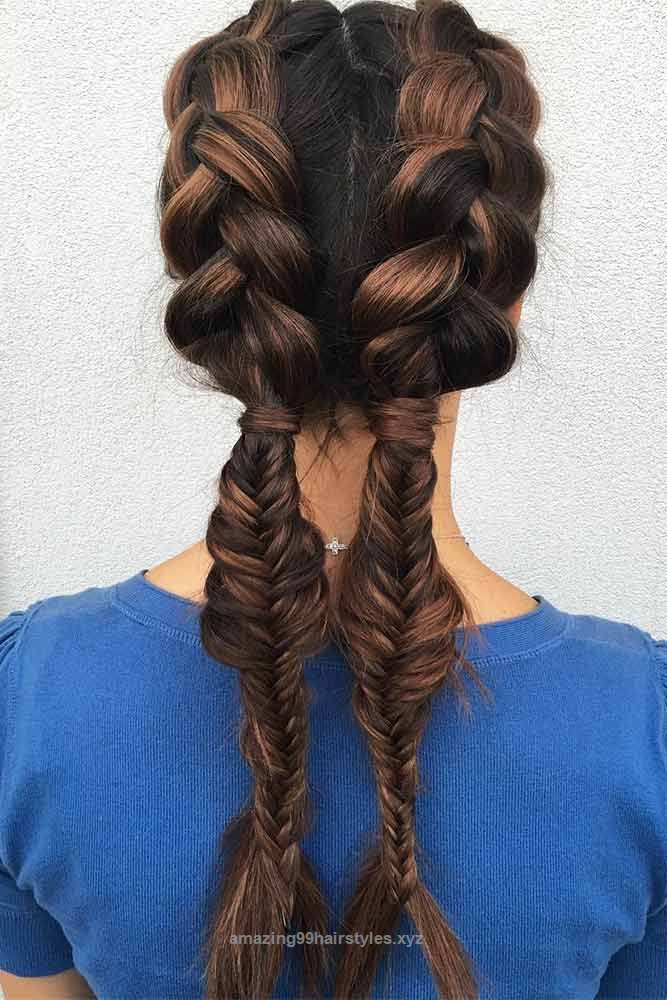 Beautiful Amazing Braid Hairstyles for Party and Holidays ...