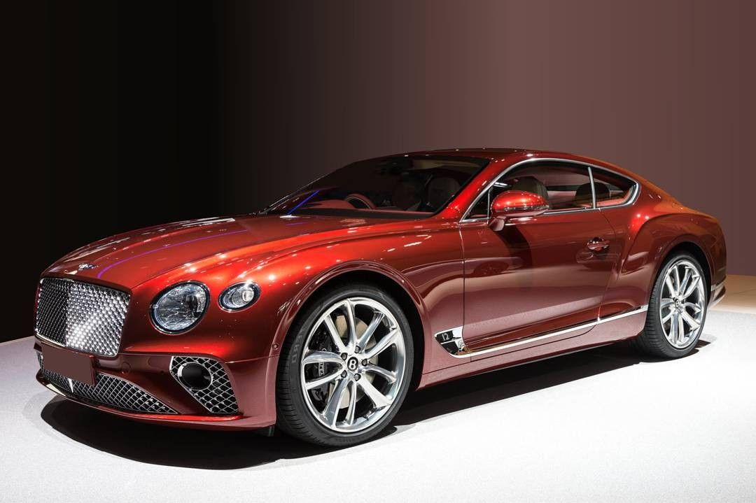 The All New 2018 Model Bentley Continental Gt With Images