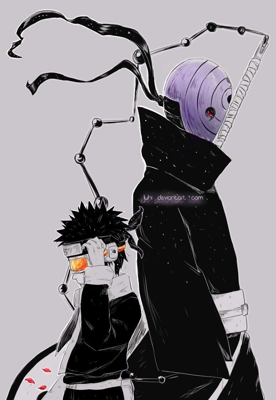 Tobi Obito Naruto Shippuuden Naruto Chapter 609