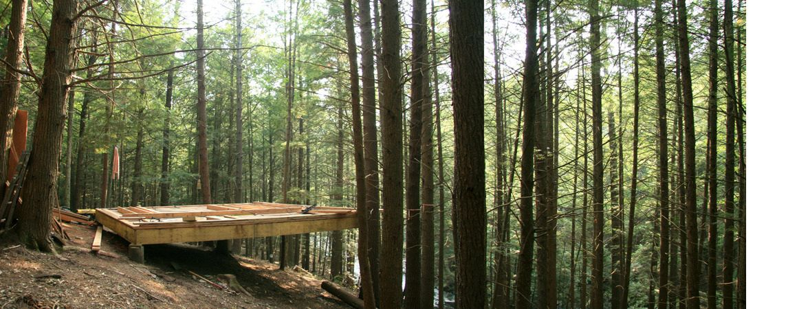 HALF TREE HOUSE BEAVER BROOK COLONY — Jacobschang Architecture