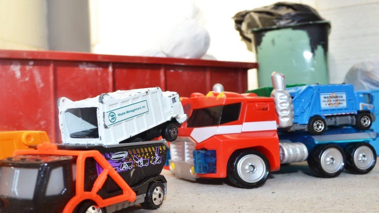 Garbage Truck Collection 1 L Siku Rear Loader Matchbox Tonka