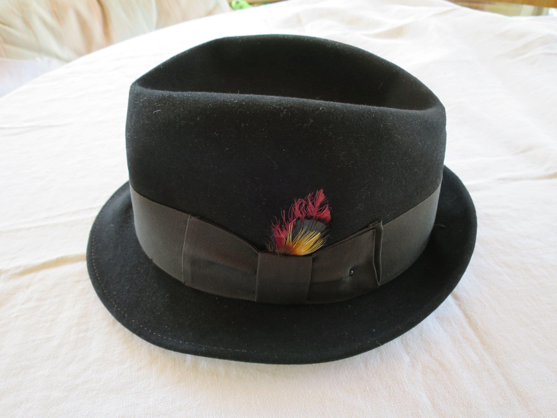 Vintage Fedora Straw Hat   Adam Hats   22 AVZ4o5huqI - somboonstudio.com b5ee062c977