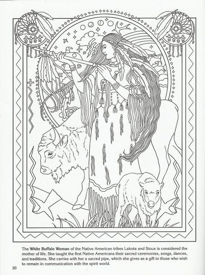 aboriginal coloring pages for adults - photo#11