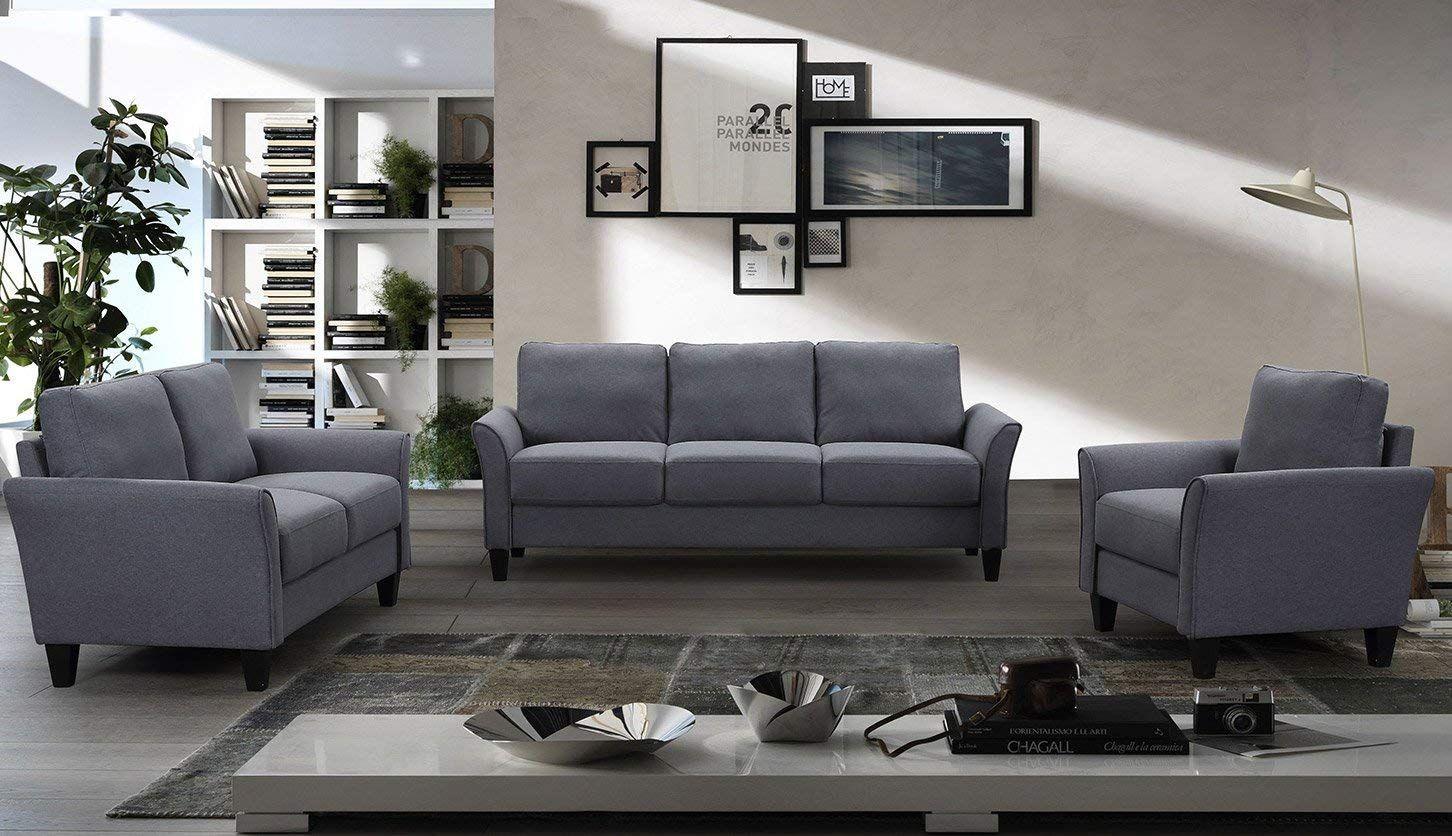 Gray 3 Piece Sofa Set Living Room Sets Furniture Furniture Sofa Set Cheap Living Room Furniture 3 piece sofa set cheap