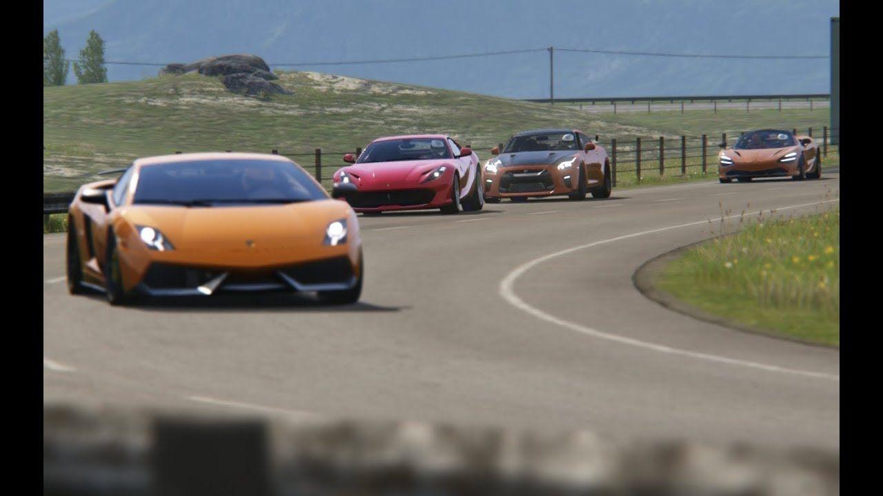 Mclaren 720s Vs Nissan Gtr 17 Vs Ferrari 812 Vs Lamborghini