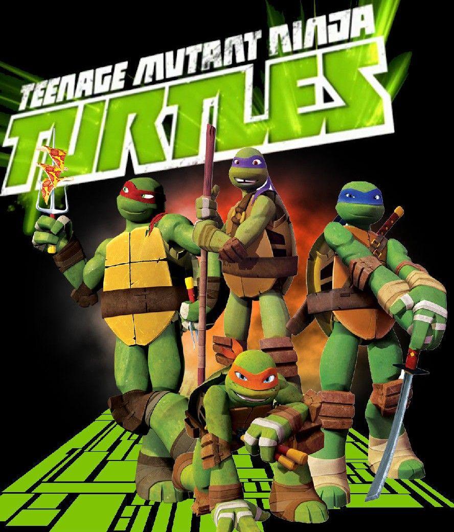 """Nickelodeon Portrait /""""Michel-Ange animée Teenage Mutant Ninja Turtles"""