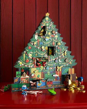 Christmas Tree Advent Calendar at Horchow.  #HorchowHoliday14