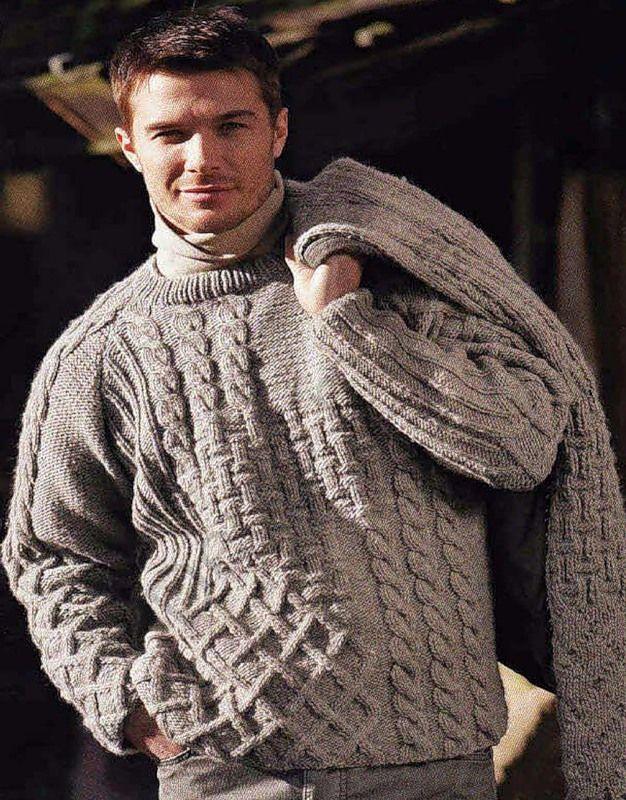 мама свитера крупной вязки мужские картинки пускай