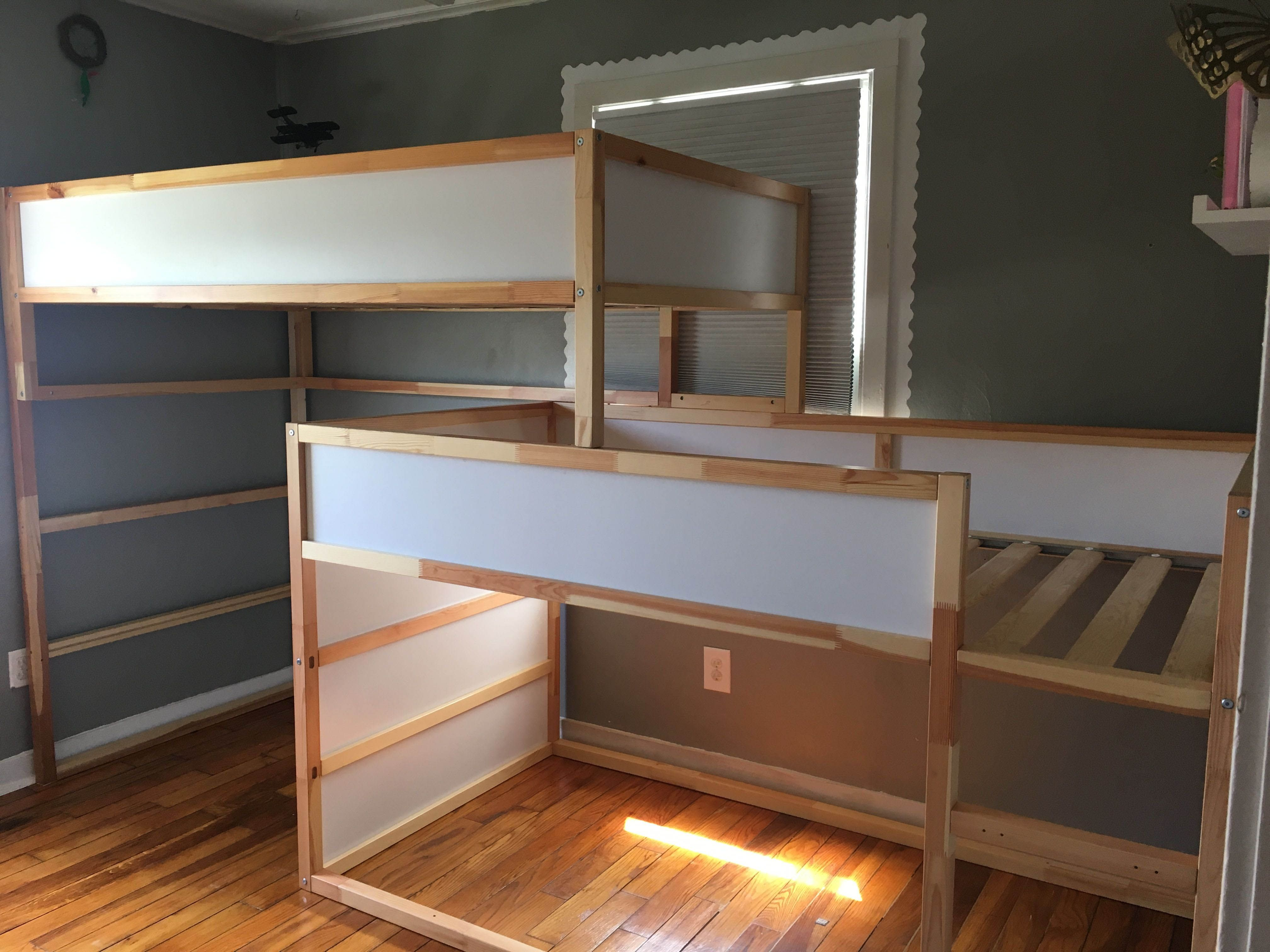 Pin by Leah Wilson on Little One White bunk beds