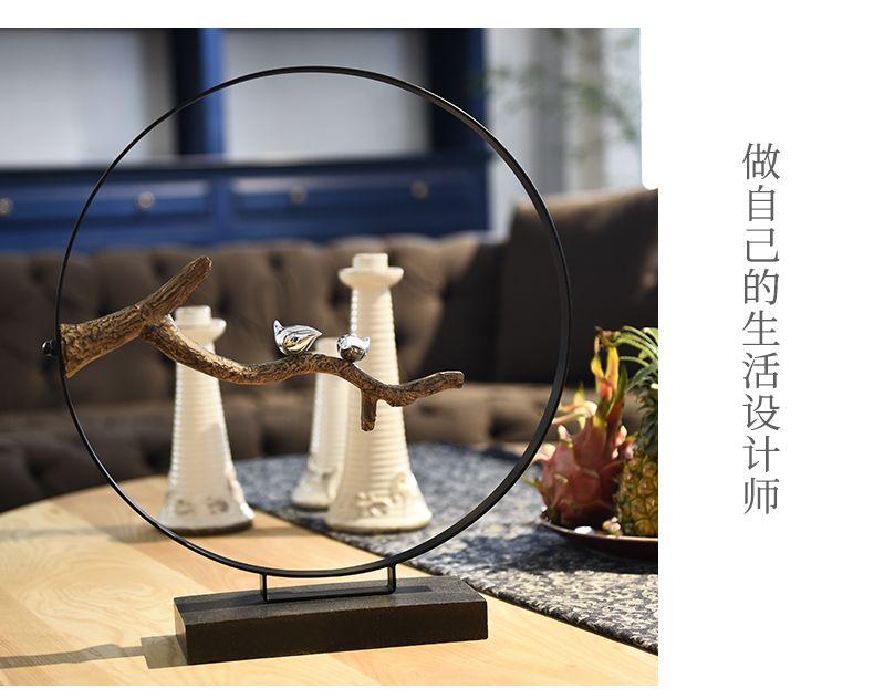 Zen Modèle Rond Créateur Vintage Artisanat Résine Mobilier pour