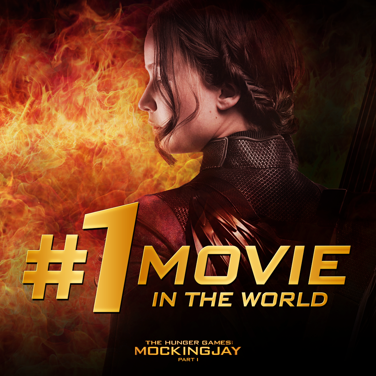 Thank You For Making The Hunger Games Mockingjay Part 1 The 1 Movie In The World Hunger Games Mockingjay Hunger Games Mockingjay