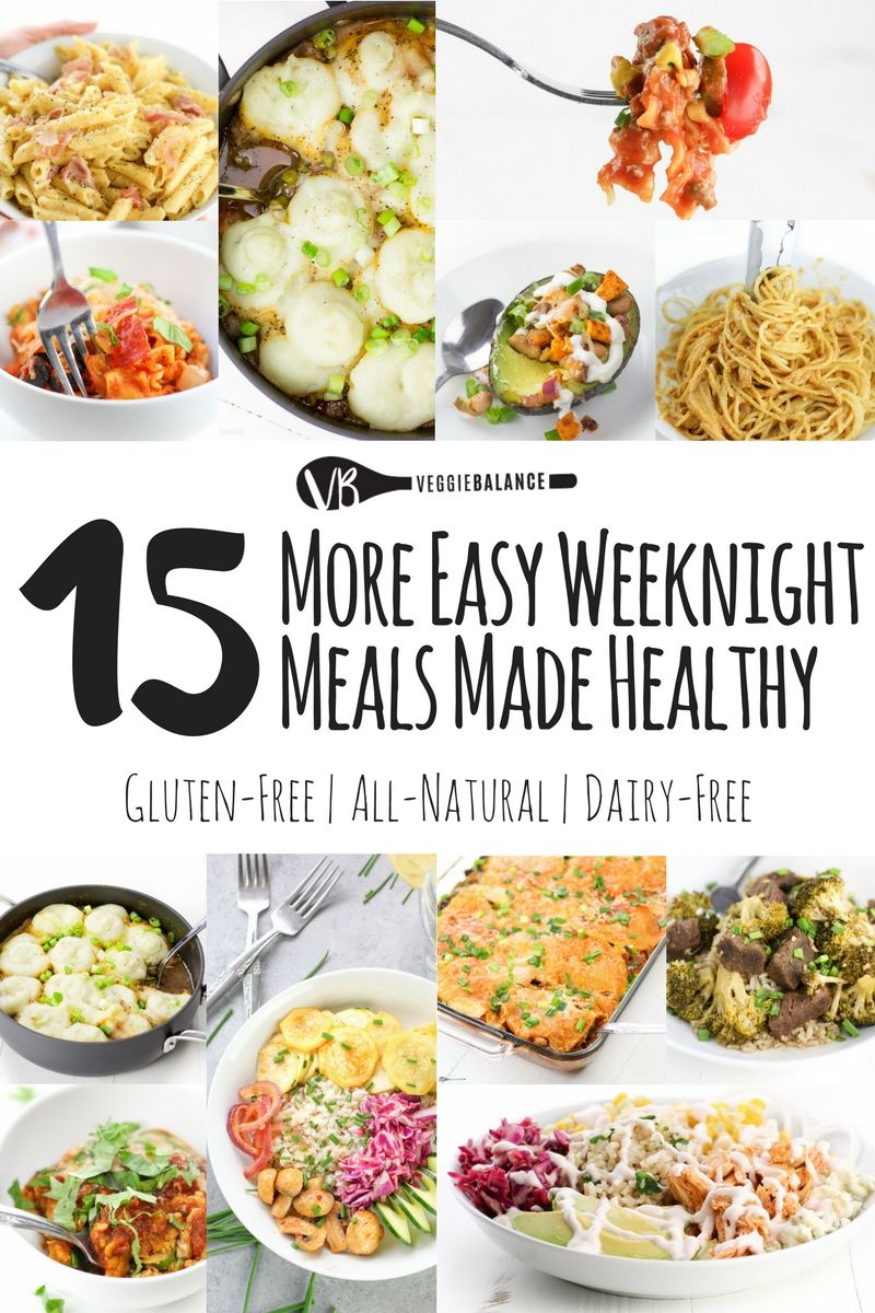 15 easy weeknight meals all gluten free 15 easy weeknight meals recipe compilation making those weeknights dinner that much easier all gluten forumfinder Gallery