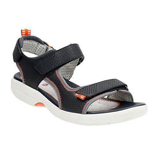 Womens Sandals Clarks Un Neema Navy