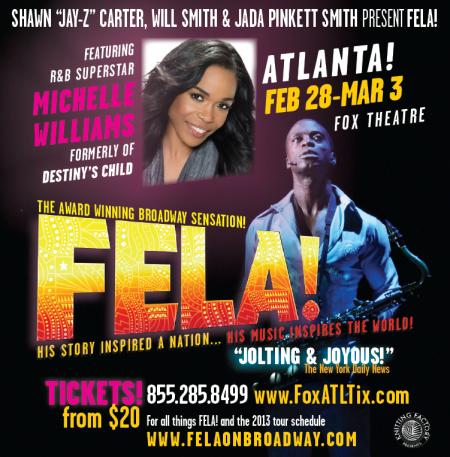 Fela! World Tour comes to Atlanta