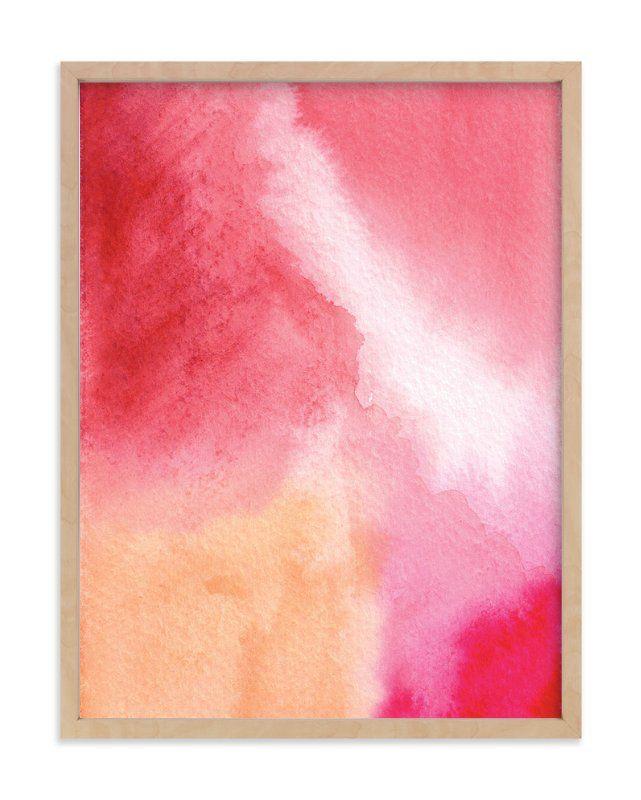 Tear drop in my soul art print by artsy canvas girl designs in