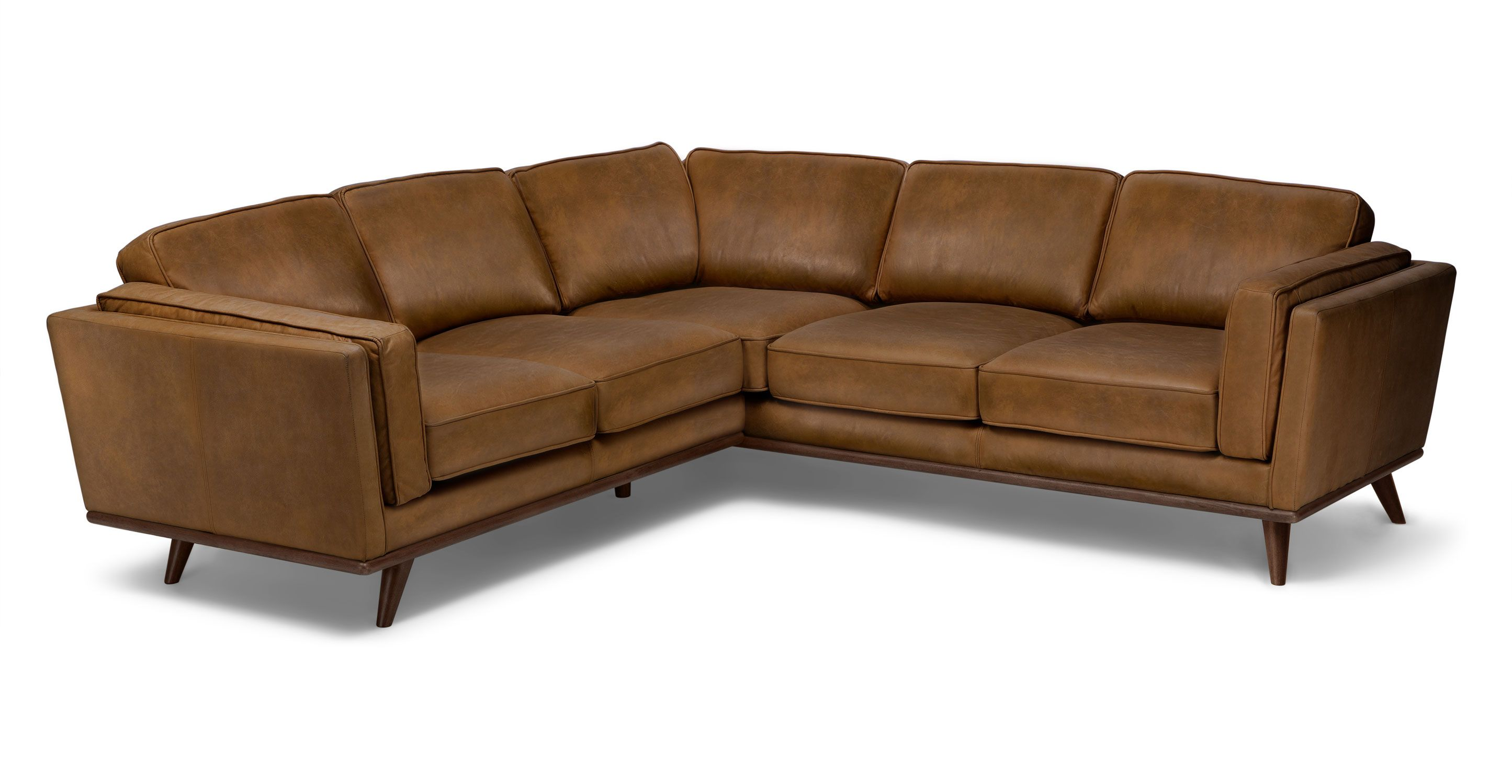Sectional Corner Couch Timber Oxford Tan Corner Sectional Home Someday Corner