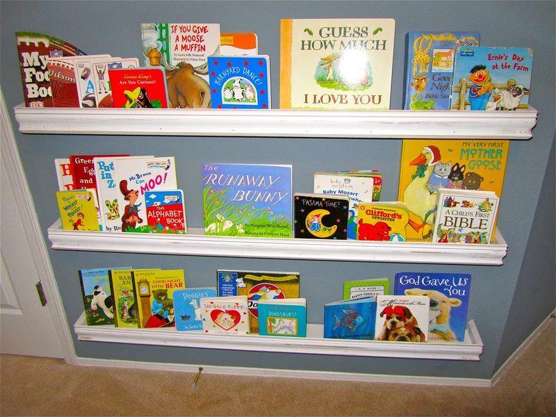 DIY bookshelves for kids room awesome nursery
